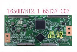 2019 placa auo Original 100% teste para AUO 65T37-C07 T650HVN12.1 CTRL BD tela TPT650HA-HVN12U placa lógica placa auo barato