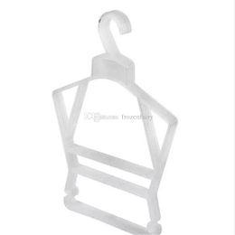 Addensare appendiabiti in plastica Baby Underwear Stendino Negozio di abbigliamento Lavanderia Speciale Antiscivolo Appendini pratico bb390-397 20180116 da