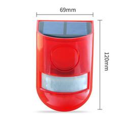 Capteur infrarouge étanche en Ligne-Capteur solaire de mouvement étanche à l'eau avec capteur d'alarme