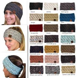 3e8d179adc4c0 10 unids   lote 21 colores de moda de punto de la venda de las mujeres de  invierno cálido deportes headwrap turbante cabeza banda oreja más cálido  gorro de ...