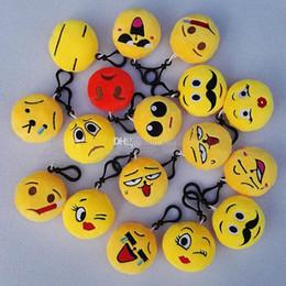 Emoji peluche portachiavi giocattoli 5.5-6 cm scimmia scimmia amore cane panda emoji farcito peluche bambola giocattolo portachiavi per zaino ciondolo da