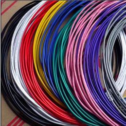 5M / 1 LOTE 22AWG multicolor Plateado STRANDED Cable de PTFE Cable de señal de alta temperatura blanco claro rojo azul amarillo verde negro desde fabricantes