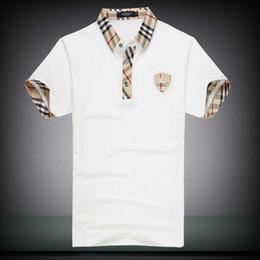 Argentina Descuentos PoloShirt hombres camiseta de manga corta de la marca London New York Chicago polo camisa de los hombres Dropship barato alta calidad gratis Shipping2019 supplier t shirt men cheap Suministro