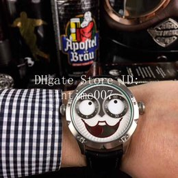 nuevo reloj ruso Rebajas 2019 Relojes nuevos de lujo Reloj para hombre Payaso ruso Diseño único Relojes de movimiento de cuarzo Relojes de pulsera para hombre de la mejor calidad Reloj Joker