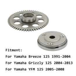 Embrayage de démarrage en Ligne-Kit d'engrenage à embrayage à roue libre à démarreur à sens unique pour Yamaha Breeze 125 1991-2004 Grizzly 125 2004-2013 YFM YFM 2005-2008