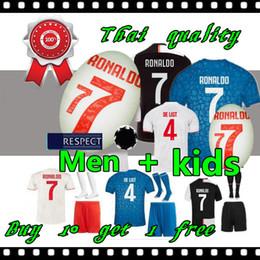 Beste trikots online-2019 2020 Fußball-Jersey-Kinder 19 20 Jugend Kind beste Qualität Fußball-Hemd Uniform freies Verschiffen