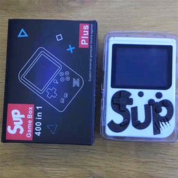 Console de jeux de télécommande en Ligne-Console de jeu vidéo de poche HOT SEII SUP Mini Portable Rétro 400 en 1 MODÈLE POUR FC AV Out Coloré Jeu Joueurs