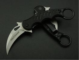 mejores cuchillos karambit Rebajas mejor karambit 690 cuchillo de garra cuchillo de entrenamiento plegable caza cuchillo de supervivencia al aire libre Adcu