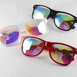 Caleidoscopio Occhiali da sole Bambini Retro Occhiali da sole per unghie Uomo Donna Occhiali da vista Moda Occhiali da vista decorativi Festive Party GGA2208 da