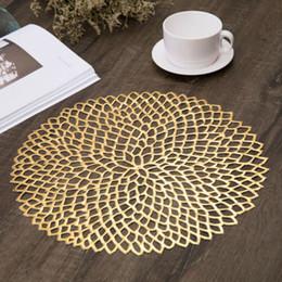 2019 adesivo in gomma rotonda Antiscivolo Tabella isolamento Coaster Pad plastica Placemat Mats Home Decor Kitchen