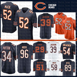 football jerseys smith Coupons - 52 Khalil Mack Chicago Bears Jersey 34  Walter Payton 54 Brian 45418c0cc
