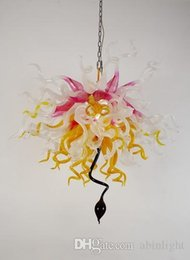 100% Hand Blown Artistic Glass Chandelier Turkish Style Colored Glass Lighting Wedding Centerpieces Pendant Lamps With High Quality LR1103 Chandelier