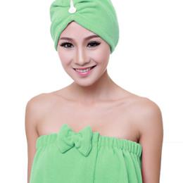 0f24c194d High Quality 140*73 cm Women Bath Skirt Absorbent Shower Body SPA Bath Wrap  Towel Robe Dry Hair Cap Sets