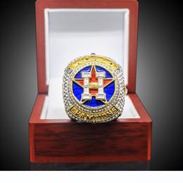 2020 anillos de la serie mundial El más nuevo de la joyería anillos de Serie de Campeonato de 2017 al por mayor de 2018 Campeonato Mundial de Béisbol Anillo Altuve Springer regalo Ventilador rebajas anillos de la serie mundial