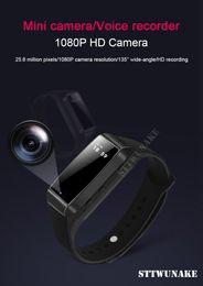 esportes escondidos da câmera Desconto STTWUNAKE HD 1080 P Mini Câmera Digital DV Gravador De Voz De Vídeo oculto Esportes Inteligente Pulseira Micro Cam Night Vision Camcorder