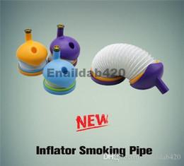 Shisha de cristal online-Nueva llegada de plástico ajustable pipa de fumar shisha hookah pipa de tabaco portátil VS Crystal Pipe por mayor