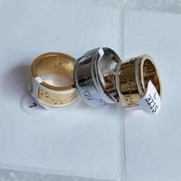 Mode Desinger Anneaux Top Qualité lettre G mêmes couleurs Couleurs En Acier Inoxydable Plaqué Or Anneaux Pour Femmes et Hommes gg Anneau Jewelr ? partir de fabricateur