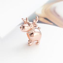 1pcs Silver CZ European Charm Beads Fit 925 Necklace Bracelet Pendant Chain D328