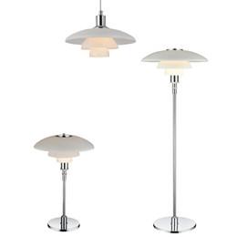 PH 3 Pendelleuchte lustre de design moderno D 28.5cm / 45.5cm Poul Henningsen Louis Poulsen PH 3/2 luz pingente de metal Louis Poulsen de