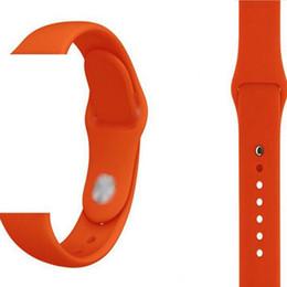 elenca le mele Sconti Cinturino cinturino in silicone 32 colori per Apple Watch Series 1 2 3 4 38MM 42MM 40MM 44 MM Cintura per orologio sportivo all'aperto OOA6871