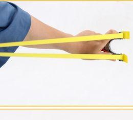 2019 estilingue de metal venda quente poderosa brinquedo catapulta Slingshot caça ao ar livre engraçado Jogos de Atletismo liga ferramenta estilingue borracha tiro caça Ferramenta de pesca