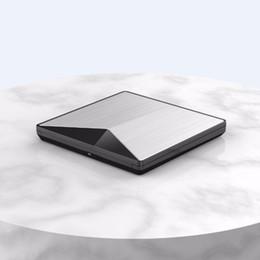 Dvd-brenner für laptop online-Heißer verkauf ultra-schlanke externe dvd-laufwerk usb 3.0 laufwerk für pc für mac dvd + wiederbeschreibbare dvd / cd rw recorder brenner einzigartige form frei shpp