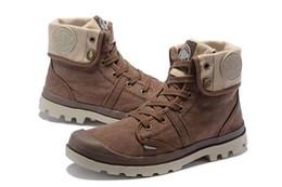Argentina PALLADIUM Mujeres Baggy Sneakers Soldiers Botas cómodas de Lona Zapatos casuales Zapatos de moda para hombre Botas altas zapatos de diseñador unisex Tamaño 35-45 supplier palladium shoes Suministro