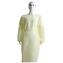 2019 ropa de soldadura Una hora desechable Ropa protectora impermeable Resistente al aceite de la bata protectora para la pintura que adorna el envío de DHL Traje general
