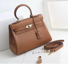 real handbags for Coupons - Luxury women classic handbag Fashion Women Bag Ladies Real Leather High Quality Shoulder Bags For Women Cross body Bags Free Shipping