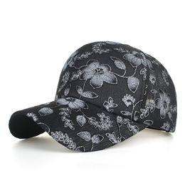 Canada FU nouvelles femmes chapeau bonnet dentelle Floral Casquet réglable femelle casquette de baseball été hip hop chapeau mignon OS mode 4 couleurs supplier cute adjustable hats for women Offre