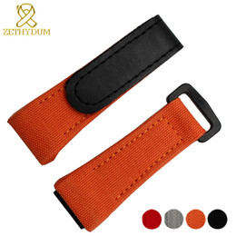 2019 samsung gear smartwatch Nylon Pulseira Lona Assista Pulseira 27mm Relógios De Pulso Banda Inferior É Genuína Pulseira De Couro Para Rm011 Rm3502 Rm056 Y19052301