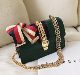 b58c116c2de623 Wholesale brand women handbag Europe and America atmospheric contrast  ribbon shoulder bag sweet bow women hand bag fashion shoulder bag michael  kors bag ...