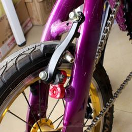 Bike Brake Converter V Brake Rack Extension Holder Frame Brake Adapter Black