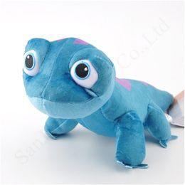 Yeni Çocuklar Freeze 2 Bruni Bebekler Oyuncak Kız Erkek 25CM Ateş Ruhu Mavi Lizard Güzel Peluş Bebek Karikatür Çocuk Doğum Oyuncaklar yeni roller A123101 nereden