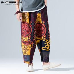 Yoga Sport & Unterhaltung Männer Harem Yoga Hosen Nepal Indien Baumwolle Leinen Yoga Hosen Breite Bein Hippie Hohe Taille Lose Baggy Casual Freizeit Sport Hose GroßEr Ausverkauf