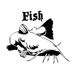 2pcs I/'d Rather Be Fishing Decal Vinyl Funny Sticker Boat Bass Catfish NEW