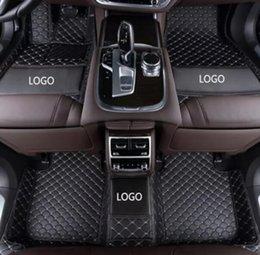 Usura di gomma completa online-Tappetino antiscivolo per auto Mercedes Maybach Classe S 2015-2019 di lusso circondato da tappetino resistente all'usura in pelle impermeabile con tappetini in gomma
