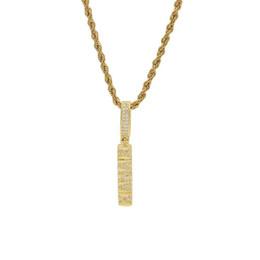 Collar para hombre estrella online-Hip Hop Punk Star Necklace Zircon Pentagram Dripping Lava Colgante Twist Chain Collar para hombre Accesorios de Moda Regalos Joyería