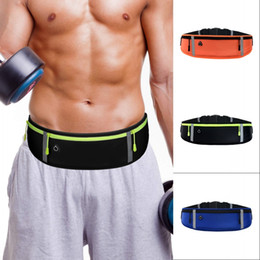 Sport Running Waist Bag Waterproof Adjustable Mobile Phone Holder Jogging Belt Belly Bag Women Gym Fitness Bag Lady Sport Accessories