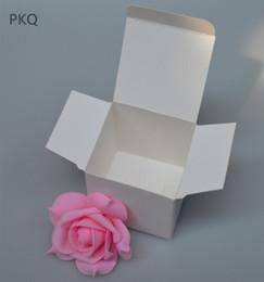 2020 scatole di imballaggio del sapone di kraft 5pcs Retro Bianco / carta kraft di sicurezza, fai da te favore di cerimonia nuziale di regalo, scatola da pasticceria Small Single gioielli soap box Packaging con coperchio scatole di imballaggio del sapone di kraft economici