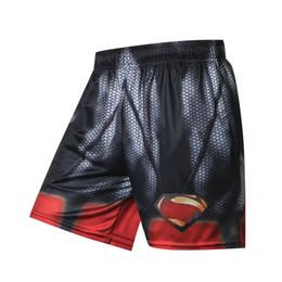 2018 Лето Горячие Мужчины Пляжные Шорты Quick Dry 3d Печать Супермен Бэтмен Человек-Паук Халк Доска Шорты Мужская Мода Повседневные Брюки Y19050703 supplier batman trousers от Поставщики брюки бэтмена