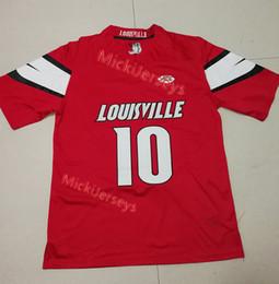 7d8e7e3d9 Mens Red NCAA  10 Jaire Alexander Louisville Cardinals COLLEGE football  Jersey Stitched Green Elite  23 Jaire Alexander Jerseys S-3XL
