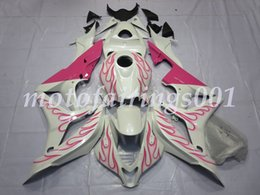 pink honda motorcycles Promo Codes - ABS Motorcycle Fairin4 Free Gifts Custom Injection Mold Newgs Kits Fit for HONDA CBR600RR F5 2007 2008 cbr600 600rr Pink Flame