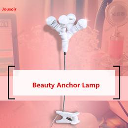 2019 lampada di ancoraggio Ancoraggio lampada Live Fill Bellezza ringiovanimento illuminazione ancora femminile selfie lampada CD50 T07 lampada di ancoraggio economici