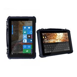 таблетка hdmi 2gb Скидка 10.1 Дюймов Прочный Промышленный Планшетный Водонепроницаемый Мобильный Компьютер Windows 10 Pro 2 ГБ RAM 32 ГБ ПЗУ HDMI NFC Сканер Штрих-Кода