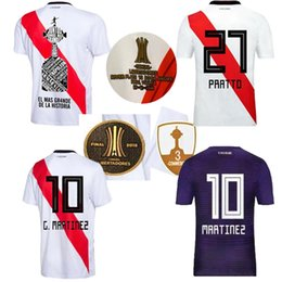 2018 2019 River Plate home away soccer jersey 18 19 River Plate edition  PRATTO OUINTERO MARTINEZ Final Libertadores football shirts 36157187f