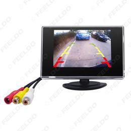 "Coche tft dvd online-venta al por mayor Car Digital 3.5 ""TFT LCD Monitor de coche inverso autónomo para DVD VCR VCD Cámara de respaldo # 1308"