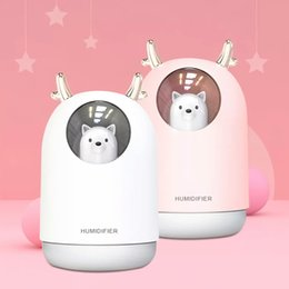 2020 USB 2019 Pig Mini Mist Air Humidifier With Colorful Lights 3 In 1 Ultrasonic Diffuser Essential Oil Mist Purifier For Car Home From Duoduo678,