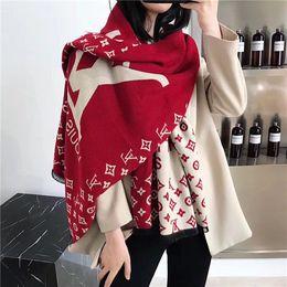 Designer men s gifts online-progettista Sciarpe sciarpa di alta qualità su due lati stampatis sciarpe uomini e le donne di lussos U4LouisVuittonregalo s sciarpa