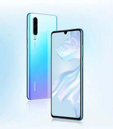 2019 teléfonos celulares de pantalla grande Pantalla original de Huawei P30 OLED de 6.1 pulgadas Octa core 8GB RAM 256GB ROM tarjeta dual nuevo smartphone